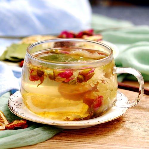 玫瑰花决明子茶减肥