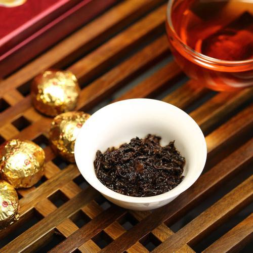 几款经典普洱熟茶