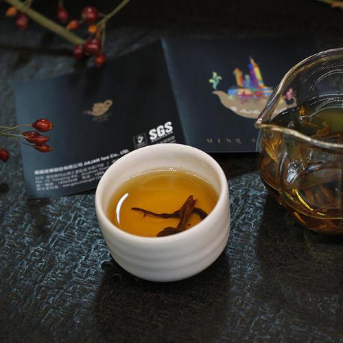 日月潭红茶样式