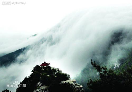 赞美庐山云雾