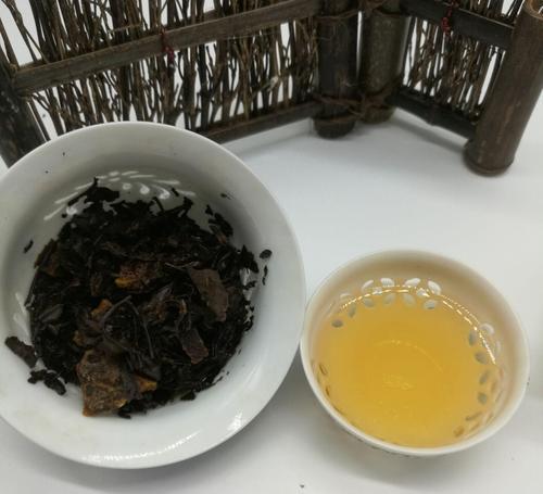 陈皮加老白茶的功效与作用